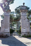 Μέσω της πύλης Appia Στοκ Εικόνες