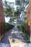 Μέσω της πύλης Appia Στοκ φωτογραφία με δικαίωμα ελεύθερης χρήσης