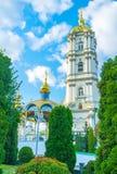 Μέσω του κήπου Pochaev Lavra Στοκ φωτογραφία με δικαίωμα ελεύθερης χρήσης