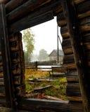 Μέσω του παραθύρου Στοκ φωτογραφία με δικαίωμα ελεύθερης χρήσης