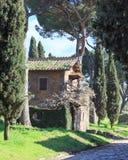 Μέσω του σπιτιού Appia Στοκ φωτογραφία με δικαίωμα ελεύθερης χρήσης