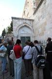 Μέσω Dolorosa, 3$οι σταθμοί του σταυρού, Ιερουσαλήμ Στοκ εικόνες με δικαίωμα ελεύθερης χρήσης