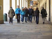 Μέσω Po της κιονοστοιχίας στο Τορίνο Στοκ εικόνες με δικαίωμα ελεύθερης χρήσης
