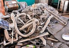 Μέταλλο έτοιμο για την ανακύκλωση Στοκ φωτογραφία με δικαίωμα ελεύθερης χρήσης