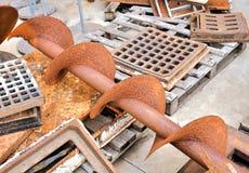 Μέταλλο έτοιμο για την ανακύκλωση Στοκ φωτογραφίες με δικαίωμα ελεύθερης χρήσης
