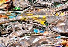 Μέταλλο έτοιμο για την ανακύκλωση Στοκ Φωτογραφίες