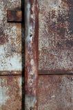 μέταλλο ανασκόπησης που οξυδώνεται Στοκ Εικόνες