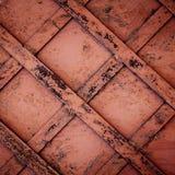 μέταλλο ανασκόπησης σκουριασμένο Στοκ Φωτογραφίες