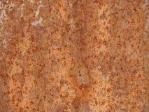 μέταλλο ανασκόπησης σκουριασμένο Στοκ φωτογραφία με δικαίωμα ελεύθερης χρήσης