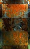 μέταλλο ανασκόπησης Στοκ Φωτογραφίες