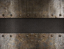μέταλλο ανασκόπησης grunge Στοκ εικόνα με δικαίωμα ελεύθερης χρήσης