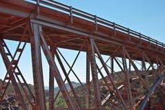μέταλλο γεφυρών Στοκ εικόνες με δικαίωμα ελεύθερης χρήσης