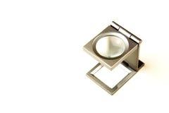 μέταλλο γυαλιού loupe Στοκ Εικόνες