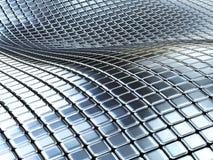 μέταλλο κιβωτίων ανασκόπη& Στοκ Φωτογραφίες