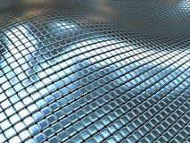 μέταλλο κιβωτίων ανασκόπη& Στοκ Φωτογραφία