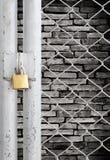 μέταλλο κλειδωμάτων συν& στοκ φωτογραφία με δικαίωμα ελεύθερης χρήσης