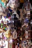 μέταλλο Μαροκινός φαναριώ Στοκ Φωτογραφίες