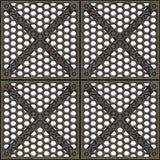 μέταλλο πορτών κλουβιών Στοκ εικόνα με δικαίωμα ελεύθερης χρήσης
