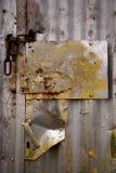 μέταλλο πορτών στοκ φωτογραφίες με δικαίωμα ελεύθερης χρήσης
