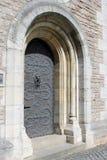 μέταλλο πορτών Στοκ εικόνα με δικαίωμα ελεύθερης χρήσης