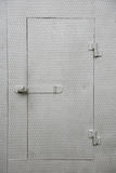 μέταλλο πορτών στοκ εικόνα