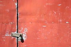 μέταλλο πορτών Στοκ Εικόνες
