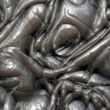 μέταλλο που στρίβεται Στοκ φωτογραφία με δικαίωμα ελεύθερης χρήσης
