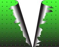 μέταλλο που σχίζεται ελεύθερη απεικόνιση δικαιώματος
