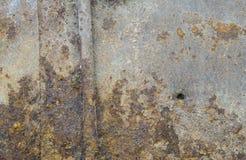 μέταλλο σκουριασμένο Υπόβαθρο Στοκ εικόνες με δικαίωμα ελεύθερης χρήσης