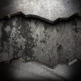 Μέταλλο στον τοίχο Στοκ Εικόνες