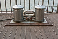 μέταλλο στυλίσκων Στοκ Φωτογραφία