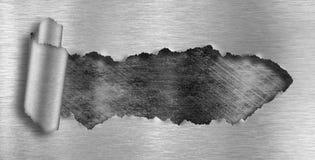 μέταλλο τρυπών ανασκόπησης grunge που σχίζεται στοκ εικόνες με δικαίωμα ελεύθερης χρήσης