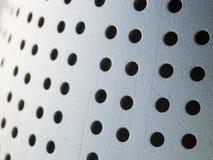 μέταλλο τρυπών στοκ φωτογραφίες