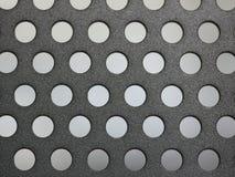 μέταλλο τρυπών Στοκ Εικόνες