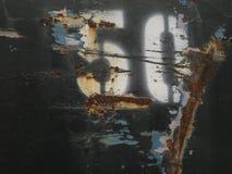 μέταλλο 50 σκουριασμένο Στοκ Φωτογραφίες