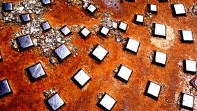 μέταλλο ανασκόπησης παλαιό Στοκ εικόνα με δικαίωμα ελεύθερης χρήσης