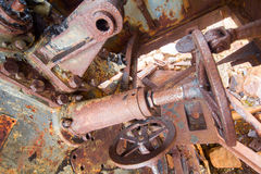 μέταλλο εργαλείων σκο&upsil Στοκ Εικόνες