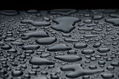 Μέταλλο και νερό Στοκ Φωτογραφία