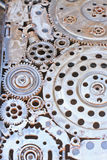 μέταλλο παλαιό Στοκ Εικόνες