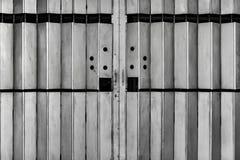 Μέταλλο που διπλώνει την πύλη στοκ εικόνα με δικαίωμα ελεύθερης χρήσης