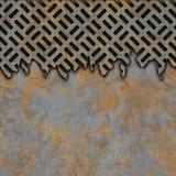 μέταλλο που οξυδώνεται Στοκ εικόνα με δικαίωμα ελεύθερης χρήσης
