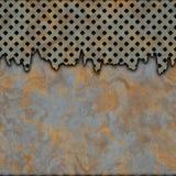 μέταλλο που οξυδώνεται Στοκ Εικόνες