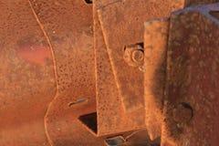 μέταλλο που οξυδώνεται Στοκ φωτογραφία με δικαίωμα ελεύθερης χρήσης