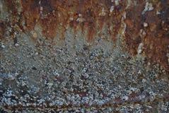 μέταλλο σκουριασμένο Στοκ Φωτογραφίες