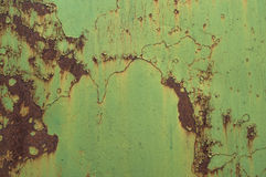 μέταλλο σκουριασμένο Στοκ Εικόνες