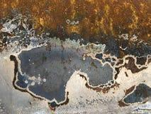 μέταλλο σκουριασμένο Στοκ φωτογραφίες με δικαίωμα ελεύθερης χρήσης