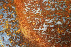 μέταλλο σκουριασμένο Στοκ Εικόνα