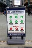 Μέτρα ασφάλειας Στοκ Εικόνες