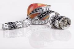 Μέτρηση της Apple Στοκ Εικόνες
