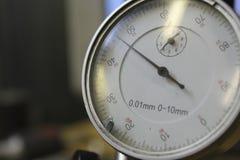 Μέτρηση του δείκτη πινάκων οργάνων οργάνων ακρίβειας Στοκ Εικόνες